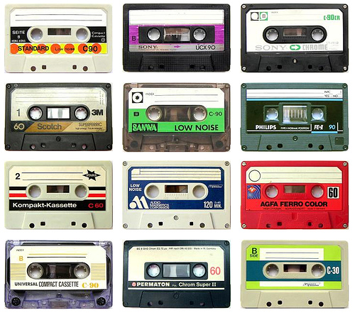 Tuesday, February 4: Green Teens make Cassette Tape Crafts!