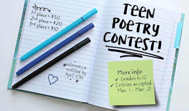 Poetry Contest for Blog